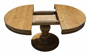 extension table f:  awesome round pedestal kitchen table with drop leaves using metal sliding rail