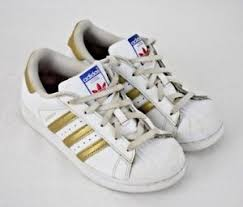 adidas shoes for girls gold. image is loading adidas-superstar-boys-girls-white-gold-low-top- adidas shoes for girls gold m