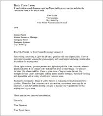 Free Download Sample Cover Letter For Resume Pin On Job Documents