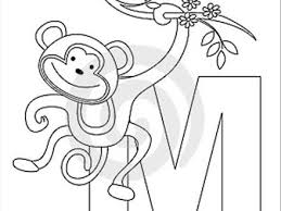 Uppercase M Coloring Page M Coloring Pages Radiokotha