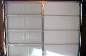 image of insulated garage doors roll up