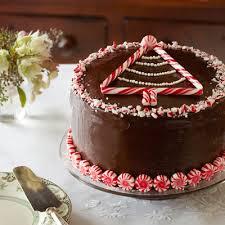 Peppermint Chocolate Layer Cake Recipe