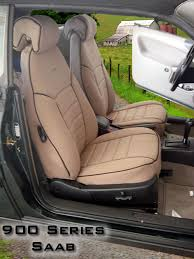 saab 900 full piping seat covers