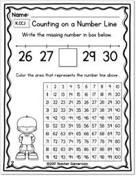 Number Lines And Hundred Chart Worksheets