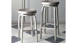 gorgeous swivel counter height bar stools spin backless stool crate and barrel wood iron stoo counter stools