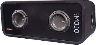 Buy Memphis Audio MJME6D1 Dual 6-1/2 Ported Loaded Subwoofer Enclosure  Online in Indonesia. B07ZBDRL7C
