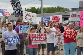 American Party of Labor Statement on the Victory of Scott Walker in the  2012 Wisconsin Recall Election