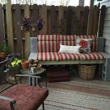 Cinder Block Furniture Backyard Image Cinder Block Bench