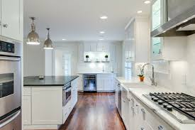 Designed by Kitchen Design Concepts. Dartmouth Cabinets in White