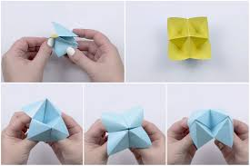 Paper Fortune Teller Template Fresh How To Make An Origami Cootie ...