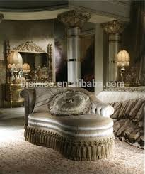 Comfortable Small Chaise Lounge, Fringe And Tassel Decorated Chaise Lounge,  Bedroom Elegant Chaise Lounge