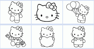 Play the game hello kitty coloring book on mobiles and tablets. Hello Kitty Coloring Book Coloring Pages 4 U