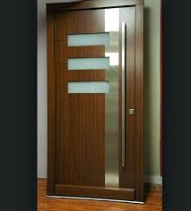 interior wood doors with glass door insert