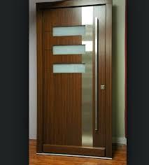 interior wood doors with glass door insert