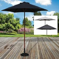 2m x 3m rectangular garden parasol