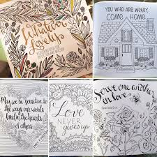 Whatever Is Lovely Coloring Book Review L