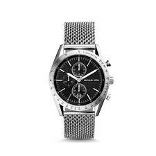michael kors men factory coach bags outlet michael kors accelerator silver tone watch