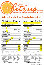 pink red gfruit nutrition facts coborns