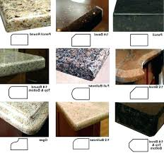 countertop edge laminate edges 6 edge profiles info gorgeous laminate edges