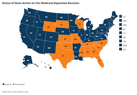 Medicaid Chart 2017 Status Of State Medicaid Expansion Decisions Interactive