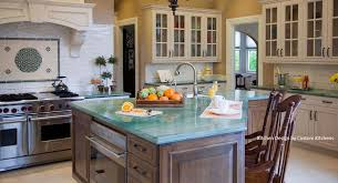 Top Custom Kitchens Granite Slab Green Kithchen Credit 1045x568 Fox
