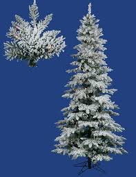 Artificial Christmas Tree Led Lights With Shop Vickerman 8 Ft Pre Slim Flocked Christmas Trees Artificial