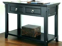 small black console table with drawer glass bent narrow tables for hall