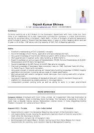 gis skills resume resume ideas