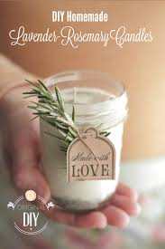 DIY Homemade Candles (with natural lavender-rosemary scent) - Live ...