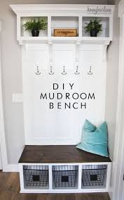 Front Door Bench Coat Rack Diy Mudroom Bench Mudroom Bench And Mud Rooms For Front Entry Bench 32