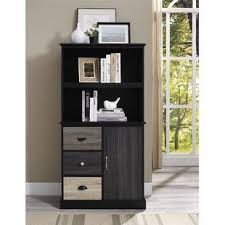 bookshelf with drawers. Exellent Drawers Snowy Mountain Standard Bookcase Intended Bookshelf With Drawers