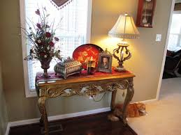 Decorating Console Table Ideas Interior Luxurious Interior Foyer Entryway Residence With