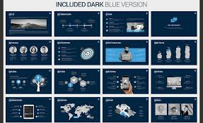 Blue And Gold Powerpoint Template 60 Beautiful Premium Powerpoint Presentation Templates Design Shack