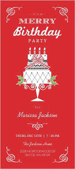 Red Birthday Party Invitations Red And Black Birthday Party
