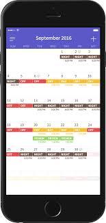 Shift Planning App Shift Work Days Calendar Planning App For Shift Worker