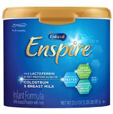 Enfamil Enspire Infant Formula With Iron Milk Based Powder