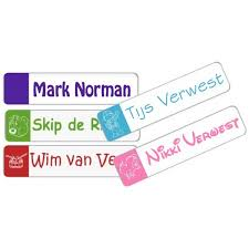 Trendy Flex Small Iron On Name Labels