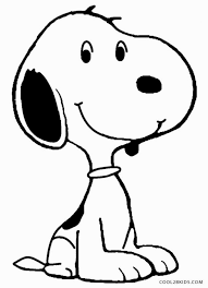 Small Picture Coloring Page Snoopy Pages mosatt