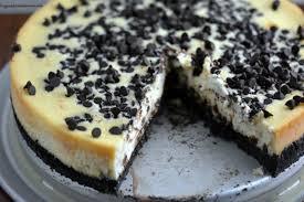 choc chip cheesecake