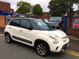 fiat 500l trekking black. 2014 fiat 500l 13 multijet trekking white with black roof 500l black