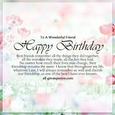 Birthday Quotes For Women Simple Wishing A Friend Happy Birthday Quotes Happy Birthday Images For