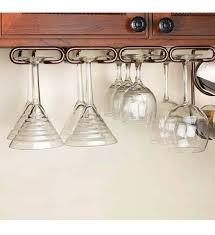 wine glass rack wooden wine glass rack under cabinet