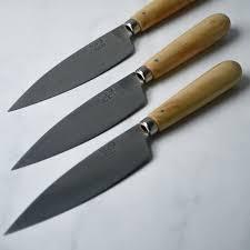 Bob Kramer 10Carbon Steel Kitchen Knives