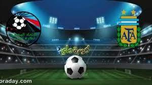 موعد مباراة مصر والأرجنتين في أولمبياد طوكيو 2020 والقنوات الناقلة