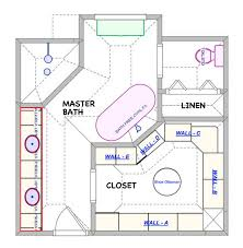 master bathroom floor plans with walk in closet. Beautiful Closet 9 Best Master Bathroom Floor Plans With Walk In Closet Simple His  Remarkable And Hers Intended P
