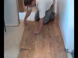 how to install laminate hardwood flooring