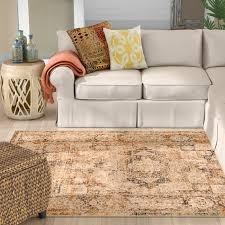 orange area rug. Gabrielle Black/Burnt Orange Area Rug