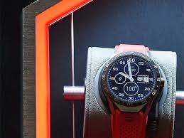 Tag Heuer Battery Chart Tag Heuer Google And Intel Release First Swiss Luxury