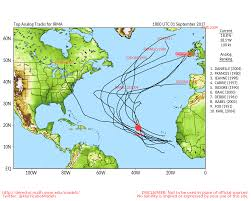 Sept 1 Hurricane Irma Data Seems To Be Favoring At East