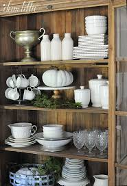 ideas china hutch decor pinterest: today we are excited to be a joining several of our blogging friends on an early middot china cabinetsfarmhous china cabinet decorchina hutch ideachina